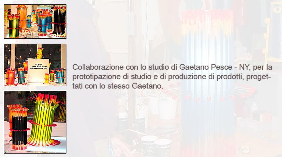 Collaboration with Gaetano Pesce - NY
